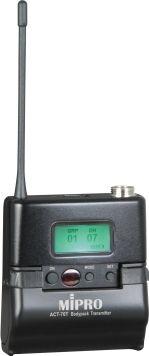 Mipro lommesender metal 8AD & 8S (823 - 831 MHz)