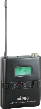 Mipro mikrofon lommesender ACT52T frekv.6C = 668-692 MHz