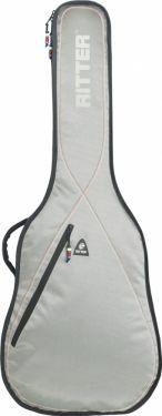 RitterBag Classic 4/4 guitar, Farve: Sølv, Rød og Hvid