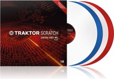 TRAKTOR SCRATCH Control Vinyl MK2 Red (21809)