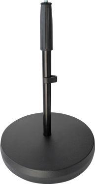 K&M bord/gulvstativ m/36 - 58 cm rør og Ø25 cm base