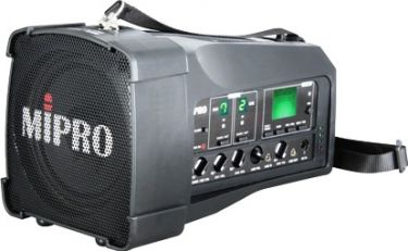 Mipro højttaler MA100 med indbygget 2 x ACTmodtager 8S
