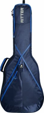 RitterBag Folk guitar, Farve: Navy & Royal Blå