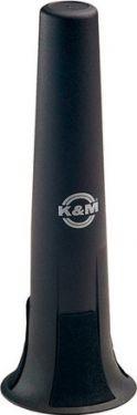 K&M sopransaxofon kegle, sort