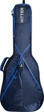 RitterBag Classic guitar 4/4, Farve: Navy & Royal Blå