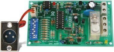 Velleman - K8072 - DMX styret relækontakt (8A)