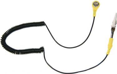 Velleman - ESD kabel og clips til antistatisk bordmåtte