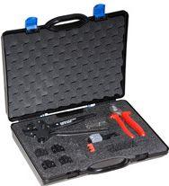 Neutrik kuffert med BNC crimp værktøj, UDEN kæber