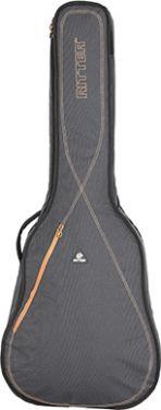 RitterBag Dreadnought Guitar, Farve: Grå & Læderbrun