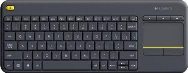 Logitech - K400 Trådløst tastatur - Nordic, m. touchpad
