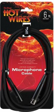 OnStage Stands mikrofonkabel XLR-XLR 1,8 mtr