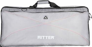 RitterBag Keyboard, Farve: Sølv, Rød & Hvid