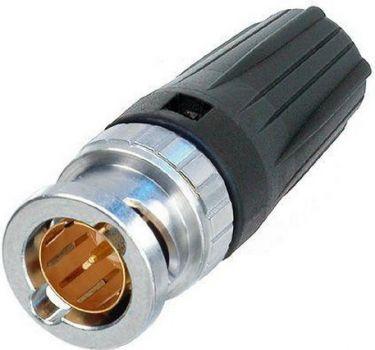 BNC stik til 4-8mm kabel (Belden 8241F + 1505A)