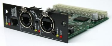 A&H Audio Modul, Audio control over Ethernet