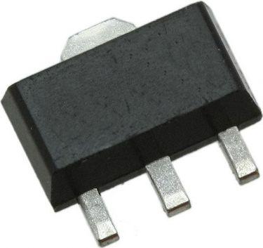 BC868 bipolar NPN transistor - 80V / 1A 1W (SOT89)