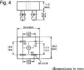 Brokobling - 400V / 15A (MB104) FASTON
