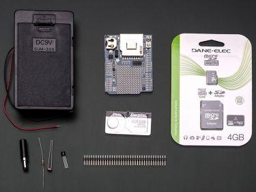Adafruit - Lys- og temperatur datalogger sæt til Arduino