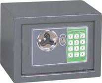 Toolland - Elektronisk værdiboks - 230 x 170 x 170mm, Grå