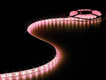 Velleman - Stænktæt LED strip (IP61) - 12V, 60 RGB LED/m (metervare)