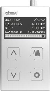 1MHz funktionsgenerator i lommeformat (MK2)