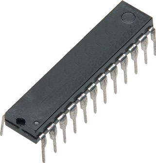 CD4515BE 4-bit latch 4-16 line decoder, CMOS (DIP24)