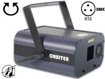 HQ Power - ORBITER 20mV grøn laser m. DMX styring