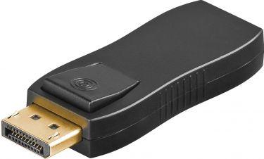 DisplayPort adapter - DP han til HDMI hun, Sort