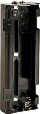 Batteriholder til 6 x C bat. (m. knapterminaler)
