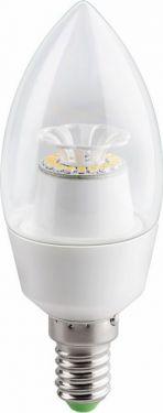 GOOBAY - E14 Lotus LED kertepære - 230V / 4,5W Varm Hvid (=33W)