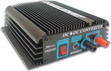 HQ Power - 24VDC til 12VDC konverter, 20A