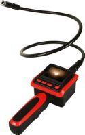 Velleman - Svanehals inspektionskamera m. farveskærm - CMOS, IP67