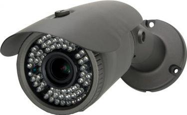 Farve projektilkamera - 50m IR, 1000 TV linjer (IP66)