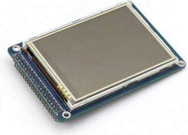 """3,2"""" TFT LCD touchskærm til Arduino/Raspberry Pi"""