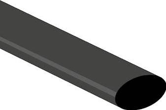 Velleman - Krympeflex 2:1 - 12,7mm SORT (1,2m)