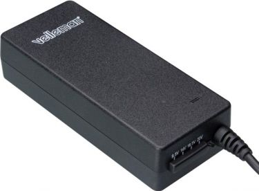 Velleman - Notebook strømforsyning - 9.5 til 20V / 48W (4A) - EUP