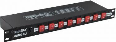 "Strømstyringspanel - 8 kanaler (15A / 3500W, 19"")"