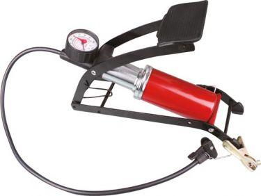 PEREL - Fodpumpe med manometer