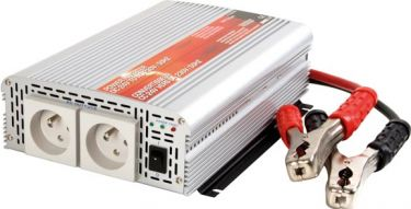 """HQ Power - Inverter - 24V / 1000W, Modificeret sinus, """"Soft start"""""""