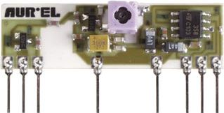RF modtager - 433,92 MHz m. justerbar spole