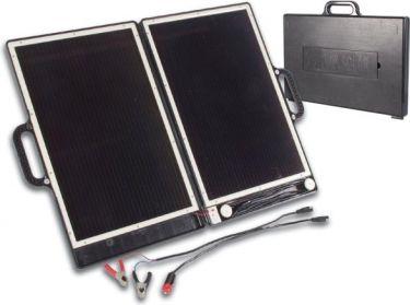 Solcellelader i kuffertdesign - stænktæt (13W)