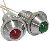 LED m. metalhus - Grøn type 2