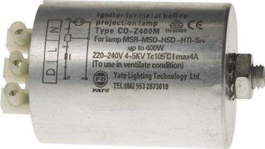 Trigger til metalhalide lamper - maks. 400W