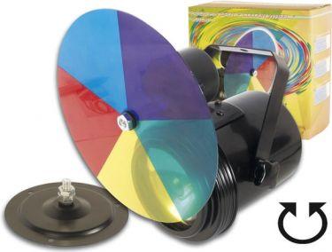 PAR36 pinspot + farvehjul + motor