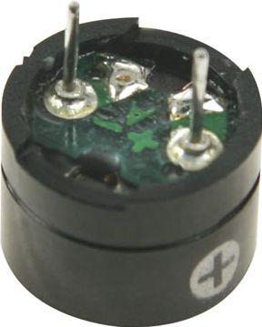 Piezo keramisk lydgiver, 1,5VDC 10mA 88dB (til printmontage)