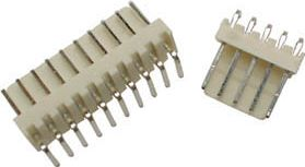 Molex - 4 pol han 90° 2,54mm benafstand