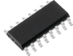 SMD Line transmitter-reciever - RS232, 5V, 220kbps (SO16)