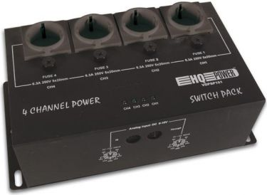 4-kanal analog POWER PACK (4 x 6,3A)