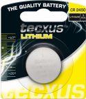 Tecxus - Tecxus - CR2450 Lithium knapcelle, 3V / 500mAh (1 stk.)