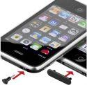 Støvbeskyttere til iPhone 4, 4s og iPad (Sort)