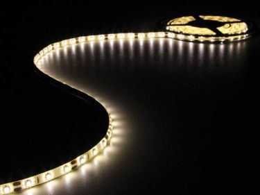 Velleman - LED strip (IP61) - 12V, 60 LED/m, VarmHvid (metervare)